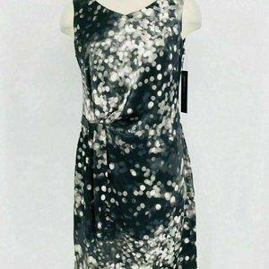 Andrew Marc Dress Women's 24W Sheath Sleeveless Ab